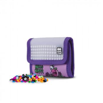 PIXIE CREW peněženka HELLO KITTY fialová