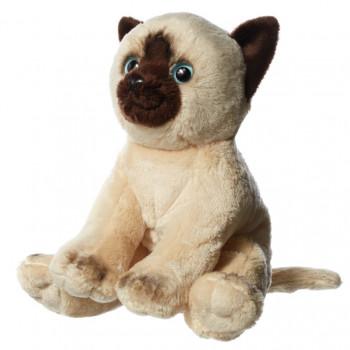 Hamleys plyšák - siamská kočka, 15 cm