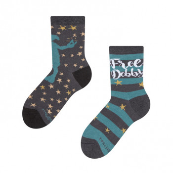 Detské veselé ponožky Harry Potter ™ Dobby je voľný