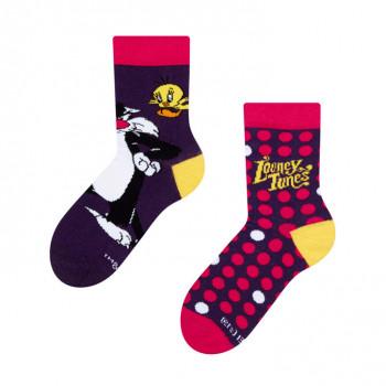 Dětské veselé ponožky Looney Tunes ™ - Sylvester a Tweety 23