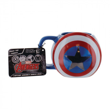 Paladone Hrnek Captain America Shield 500 ml