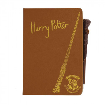 Harry Potter Notebook and Wand Pen CDU of 12 V2