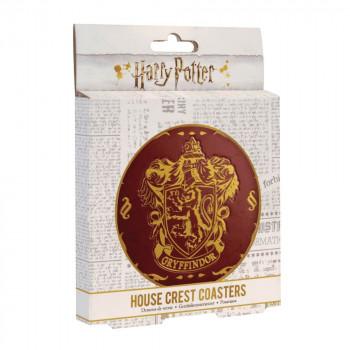 Hogwarts Crest Coasters V2