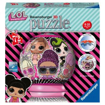 Ravensburger 3d puzzle Puzzleball L.O.L 72 dílků
