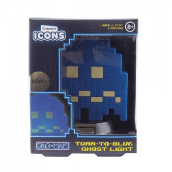 PAC-MAN - Mini Lamp Turn to Blue Ghost 10cm