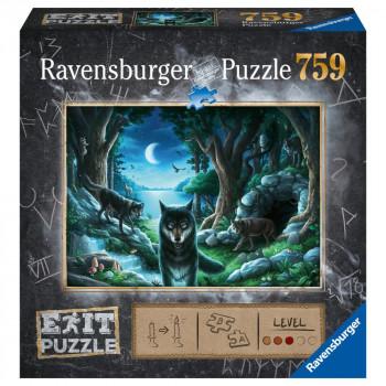 Ravensburger puzzle Exit puzzle: Vlk 759 dílků