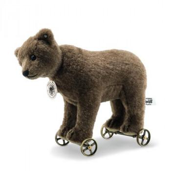 Bear on wheels replica 1904, brown