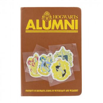Hogwarts Alumni Notebook and Sticker Set