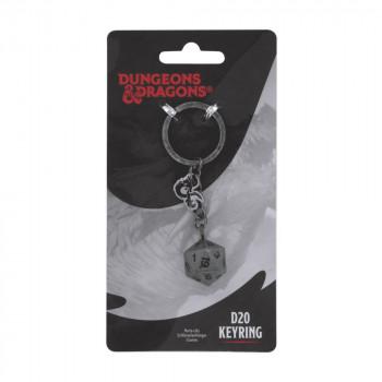 D20 Keyring