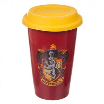 Cestovní hrnek s motivem Harry Potter - Grifindor 350 ml