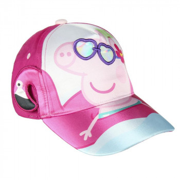 Dětská kšiltovka Peppa Pig s 3D detaily