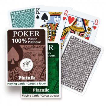 Piatnik 100% Plastic poker