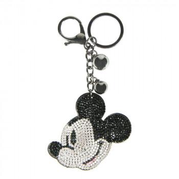 3D Klíčenka Mickey Mouse s kamínky