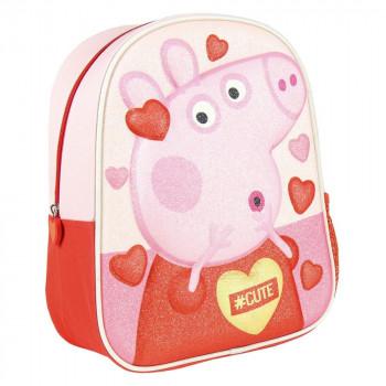 Dětský batoh 3D Peppa Pig Premium