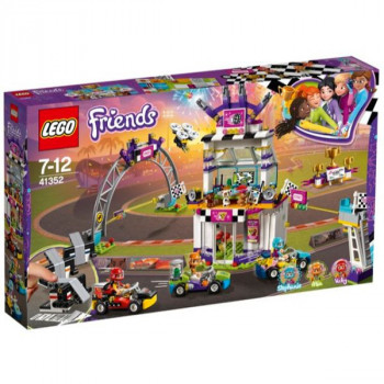 LEGO 41352 Friends Heartlake The Big Race Day Playset