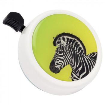 Zvonek na kolo Big Colour Bell Punky Zebra White