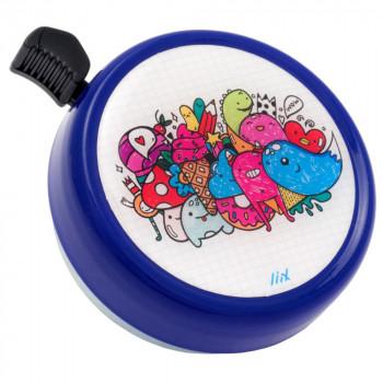 Zvonek na kolo Big Colour Bell Cute Monsters Blue