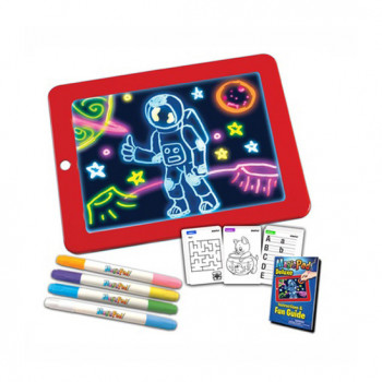 Kreslící tabule Glow Crazy s disko efekty
