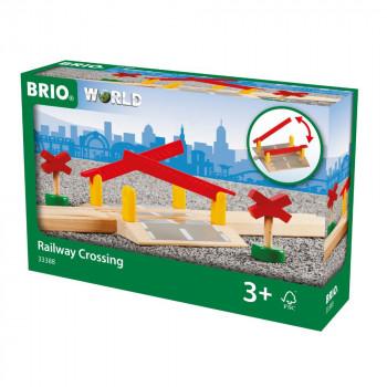 Brio 33388 - Železniční přejezd se závorami