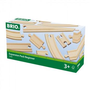 Brio 33401 - Set kolejí, 11 dílů
