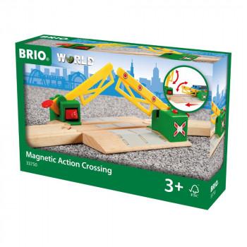 Brio 33750 - Železniční přejezd magnetický