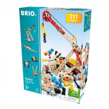Brio Builder Stavební set 210ks