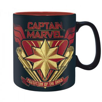 MARVEL - Hrnek - 460 ml - Captain Marvel
