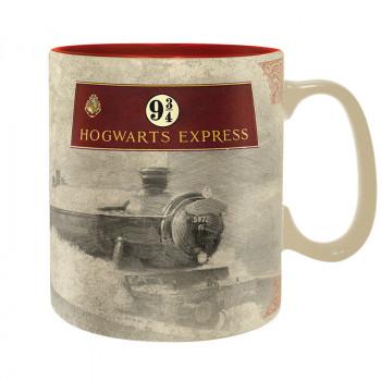 ABYstyle Keramický hrnek Harry Potter Hogwarts Express 460 m