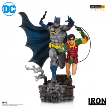 Batman & Robin Deluxe Art Scale 1/10 - DC Comics by Ivan Rei