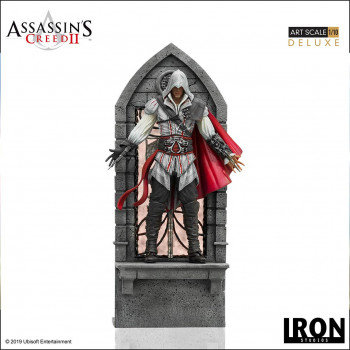 Ezio Auditore DELUXE Art Scale 1/10