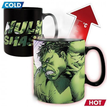 MARVEL - Hrnek Heat Change - 460 ml - HULK SMASH