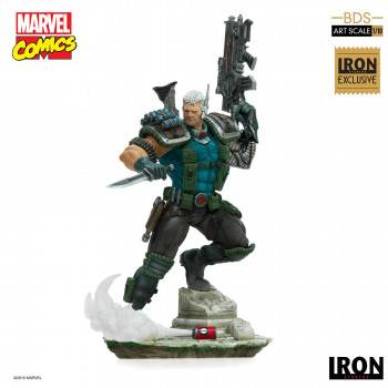 Cable BDS Art Scale 1/10 - Marvel Comics Series 6 Event Excl