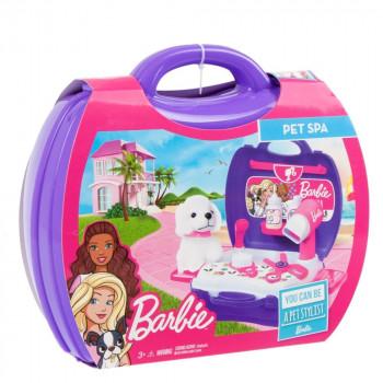 Barbie - Kadeřnický kufřík pro mazlíčky