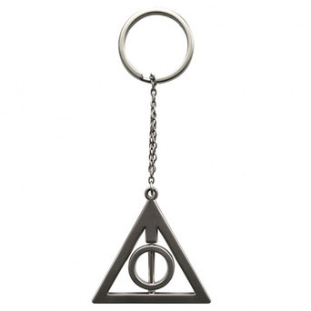 HARRY POTTER - Keychain 3D Deathly Hallows X2