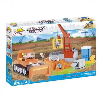 Cobi 1674 Action Town Stavební stroje
