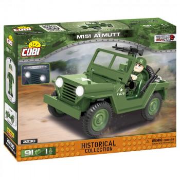 Cobi 2230 SMALL ARMY Vietnam War: terénní automobil 151 A1 M