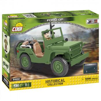 Cobi 2400 SMALL ARMY II WW: terénní automobil Ford GP, 91 k,
