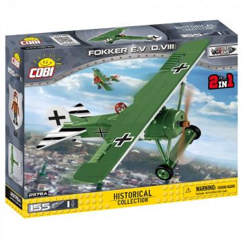 Cobi 2976 Malá armáda I. světová válka Fokker E.V (D. VIII)