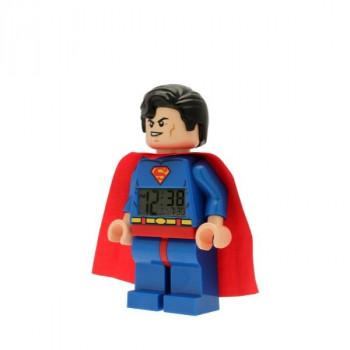 LEGO DC Super Heroes Superman Hodiny s budíkem