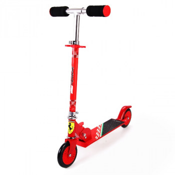 Dětská koloběžka Ferrari červená