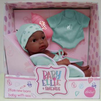 Baby Ellie panenka novorozenec