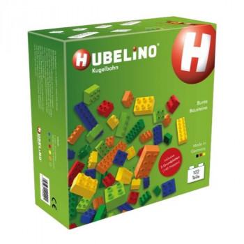 HUBELINO Kostky barevné 102 ks