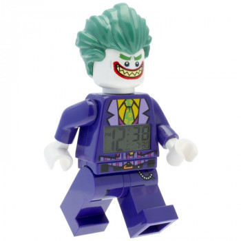 LEGO Batman Movie hodiny Joker - hodiny s budíkem