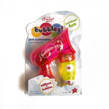 Hamleys bublifuk Bubbleator růžový