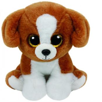 TY Beanie Babies SNICKY hnědý plyšový pes 24cm
