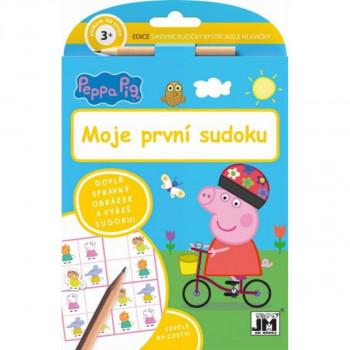 Jiří Models Peppa Pig Šikovné ručičky Moje první sudoku