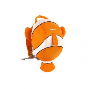 LittleLife batoh Animal Toddler Ryba oranžový