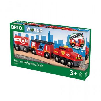 Brio Hasičský záchranářský vlak