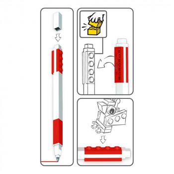 LEGO Gelové pero, červené - 2 ks