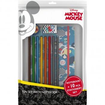 Jiri Models Balíček s blokem Mickey Mouse